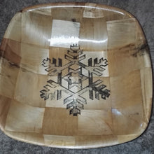Snowflake Serving Bowl Home Table Decor Basket Bowl #Snow