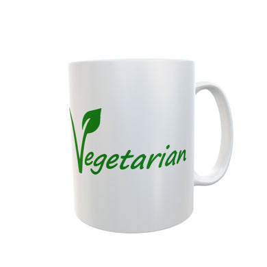 Vegetarian Tea Coffee Mugs Gift #Vegetarian