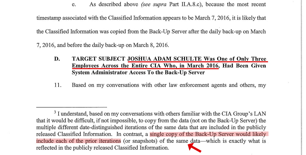 July 4th Schulte Case Update - un-redacted SEARCH WARRANTS – Mad Dog PAC