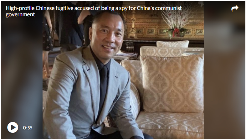 He's a Chinese billionaire and a member of Trump's Mar-a-Lago  Is he