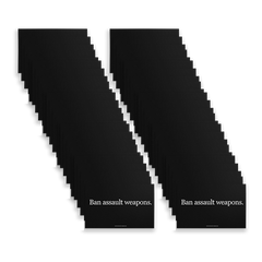 Ban Assault Weapons Sign Pack