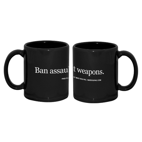 Ban Assault Weapons Ceramic Mug