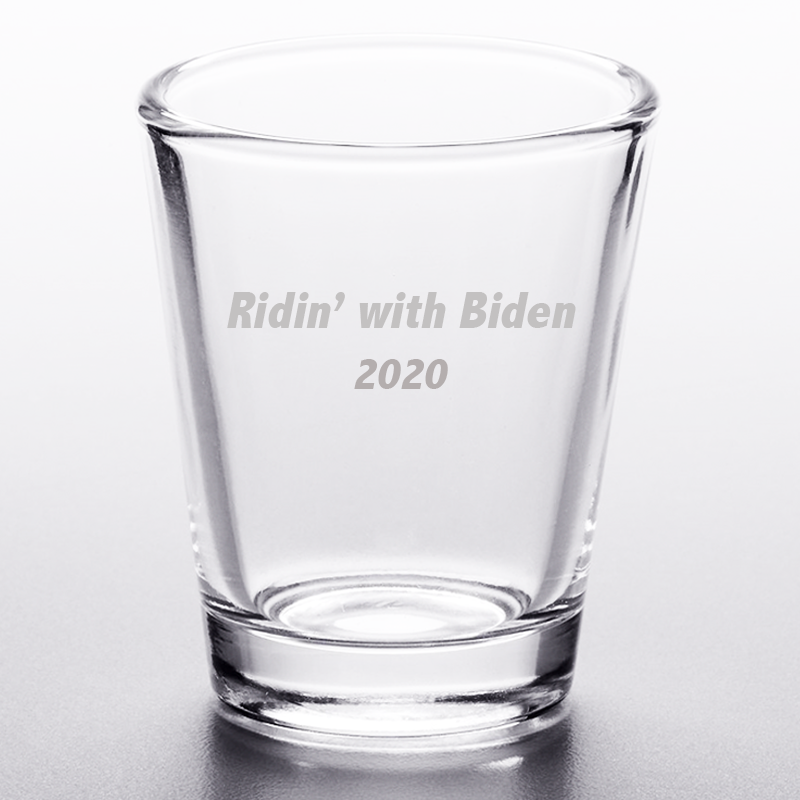 Ridin' With Biden Shot Glass Set