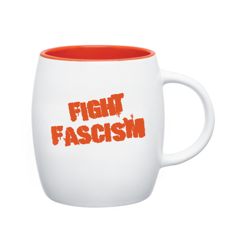 Fight Fascism Covfefe Mug