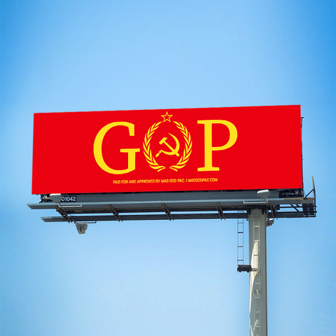 GOP Treason Billboard