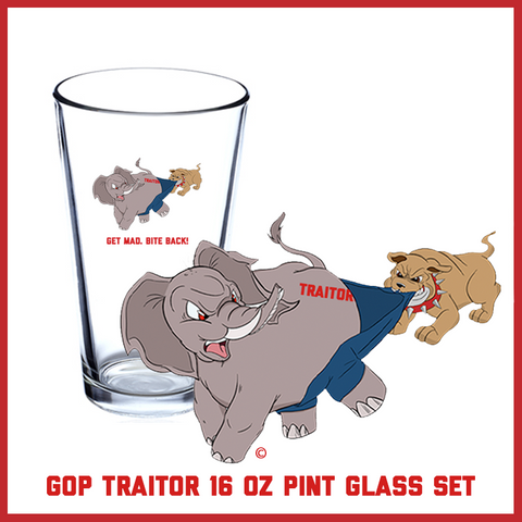 GOP Traitor Pint Glass Set