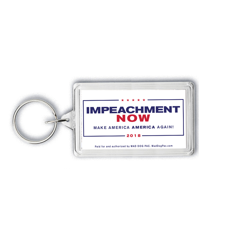 Impeachment Now Key Tag