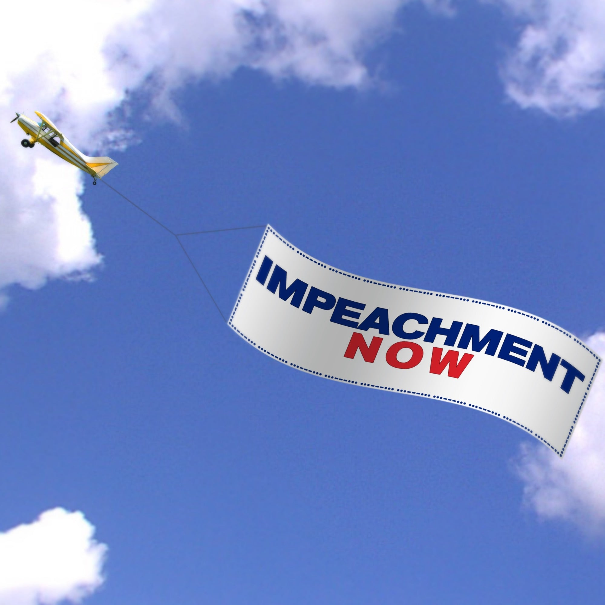 World's Largest Impeachment Sign