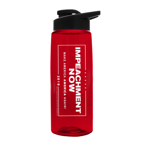 Impeachment Now Water Bottle