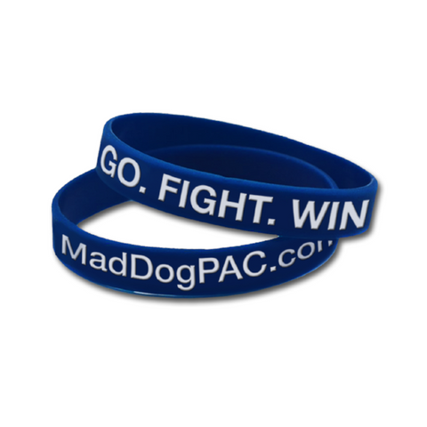 Go. Fight. Win. Wristbands