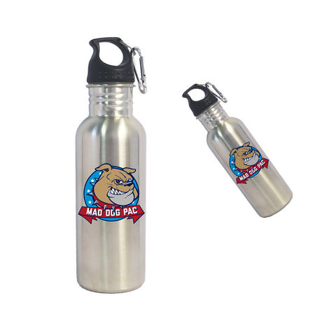 Mad Dog Stainless Steel Water Bottle