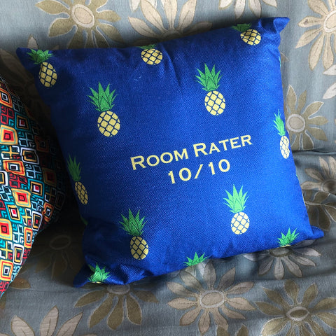 Room Rater Pineapple Pillow Cover