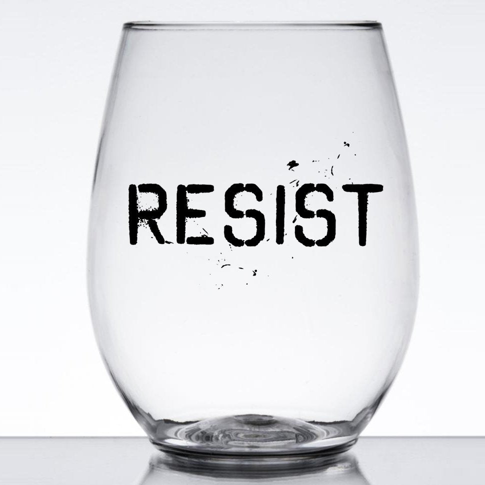Resist Wine Glass Set