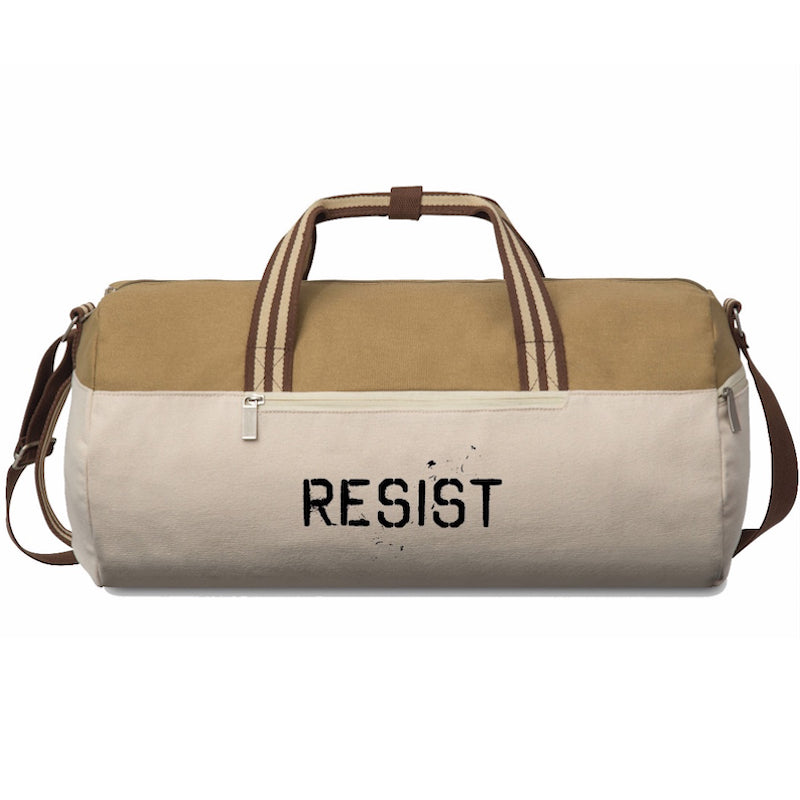 Resist Cotton Barrel Duffel