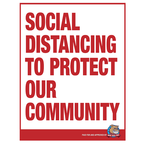 Social Distancing Poster - Free Download