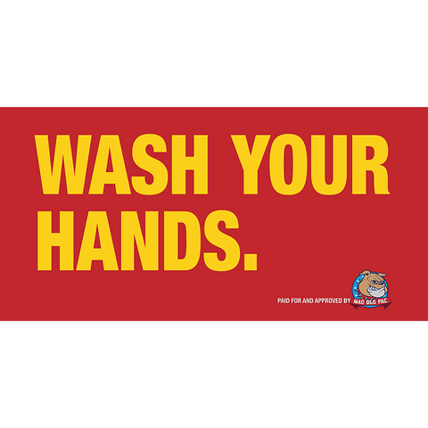 Wash Your Hands Poster - Free Download