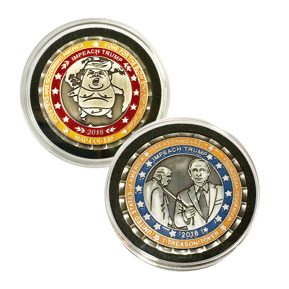 Trump Treason Token 3.0 w/ Half-priced Token 2.0