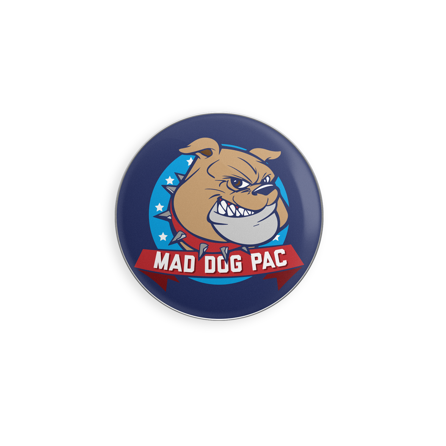 Mad Dog Enamel Pin
