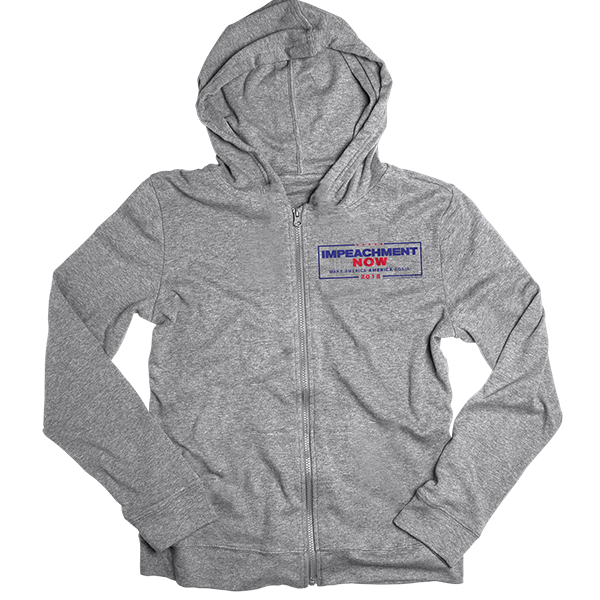 Impeachment Now Zip Hoodie