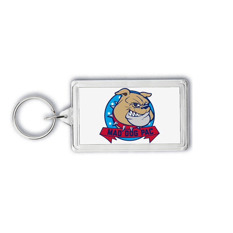 Mad Dog Key Tag