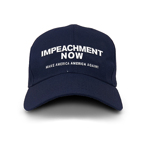 Impeachment Now Navy Hat
