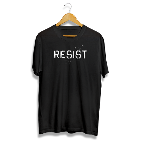 Resist T-Shirt (Black)