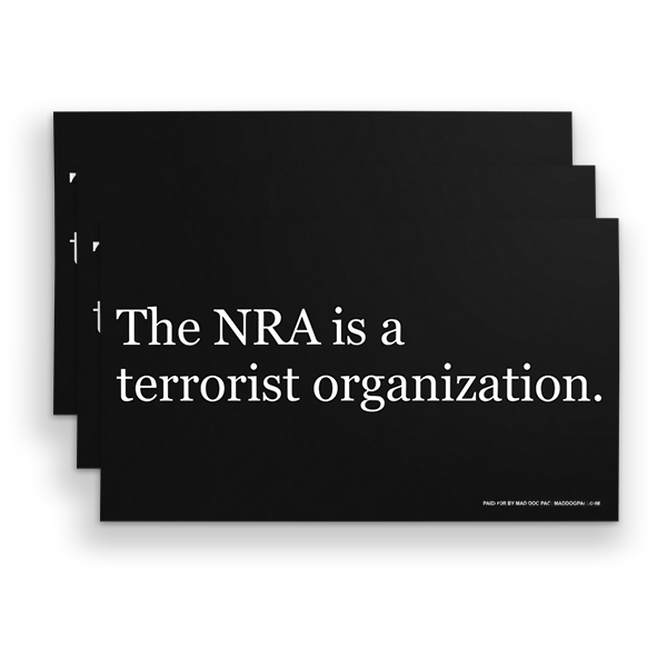 NRA Terror Sign Pack