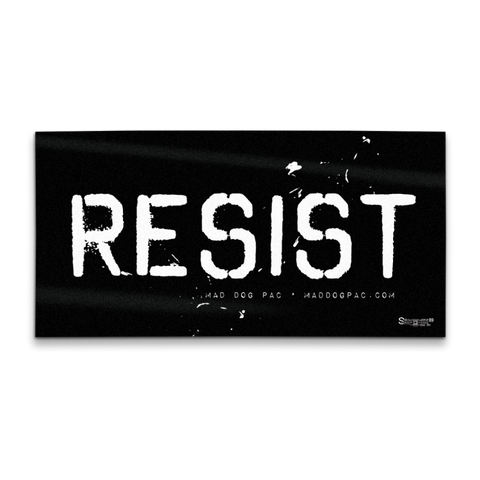 Resist Bumper Sticker Pack