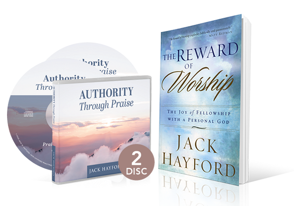 Authority Through Praise - 2-Message album and The Reward of Worship book
