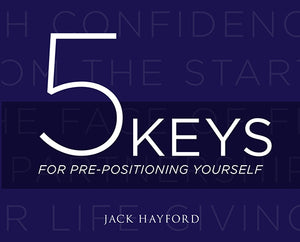 Five Keys for Pre-Positioning Yourself