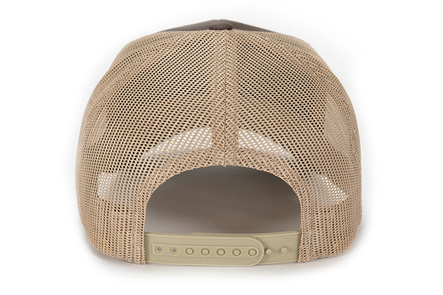 Bird Dog Patch Mesh Back Hat - Brown/Tan