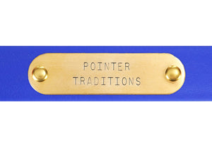 Hunting Dog Center Ring Collar - River Blue