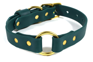 Hunting Dog Center Ring Collar - Woodland Green