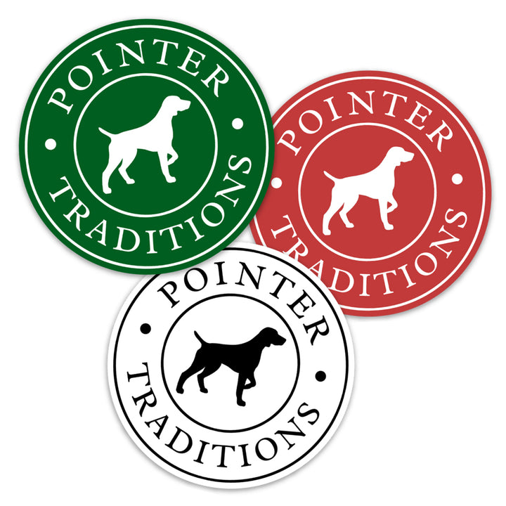 Pointer Traditions Logo Decal Sticker Pack