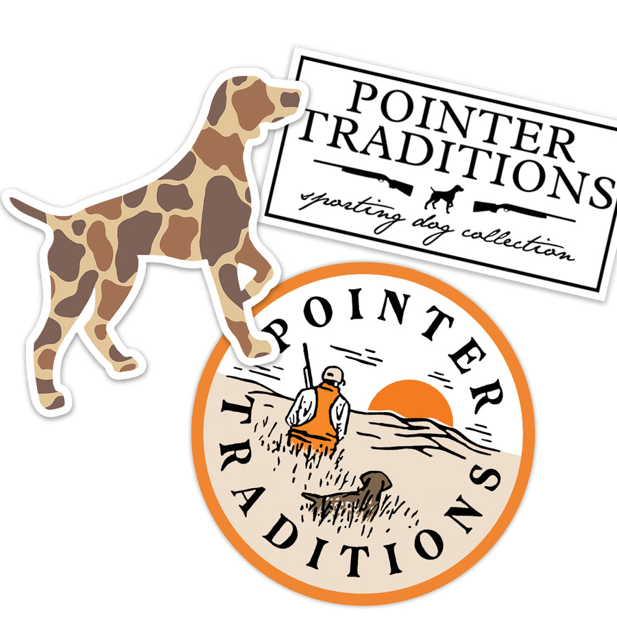 Outdoor Pointer Decal Sticker Pack