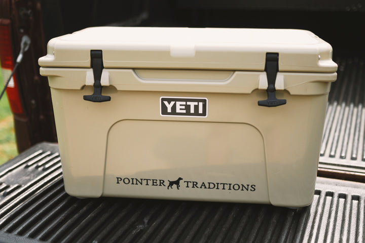 Pointer Traditions Die-Cut Decal