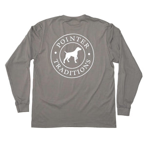 Original Pointer Tee Long Sleeve - Slate