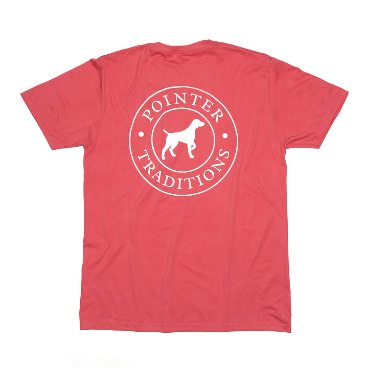 Original Pointer Tee Short Sleeve - Nantucket Red
