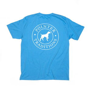 Original Pointer Tee Short Sleeve - Coastal Blue