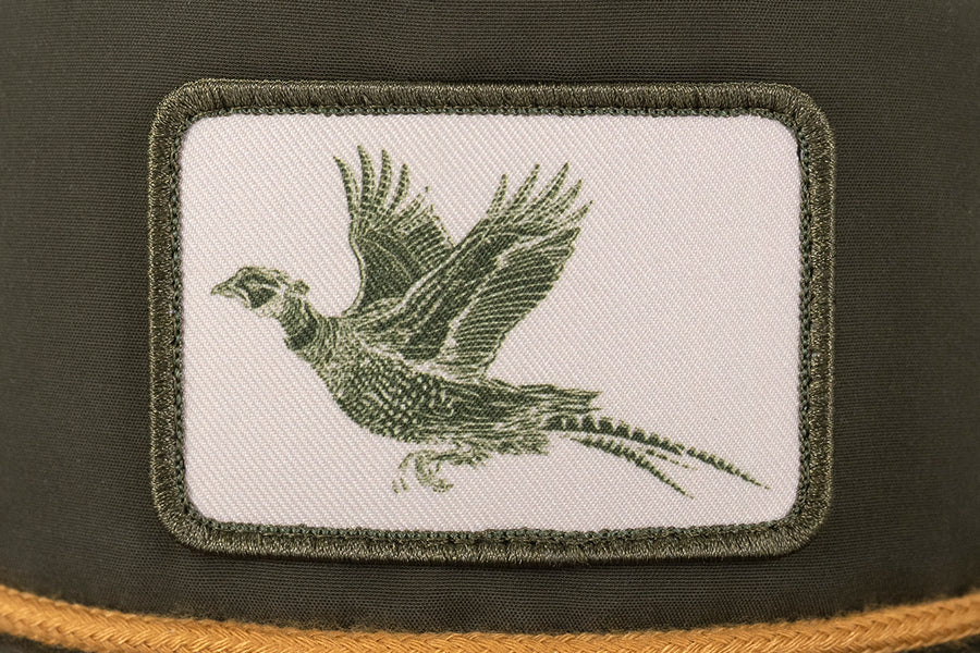 Pheasant Patch Hat