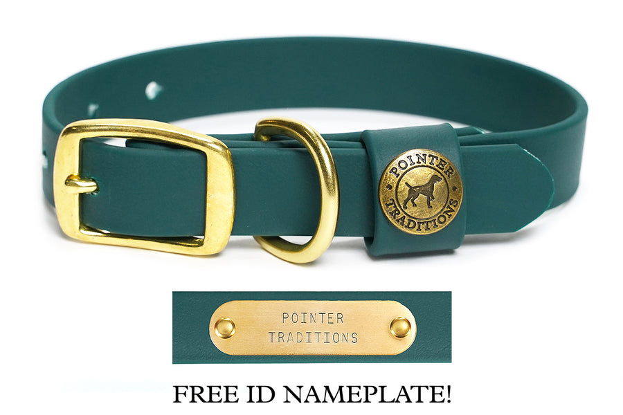 Sporting Dog Collar - Woodland Green