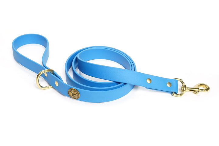 Sporting Dog Leash - Sky Blue