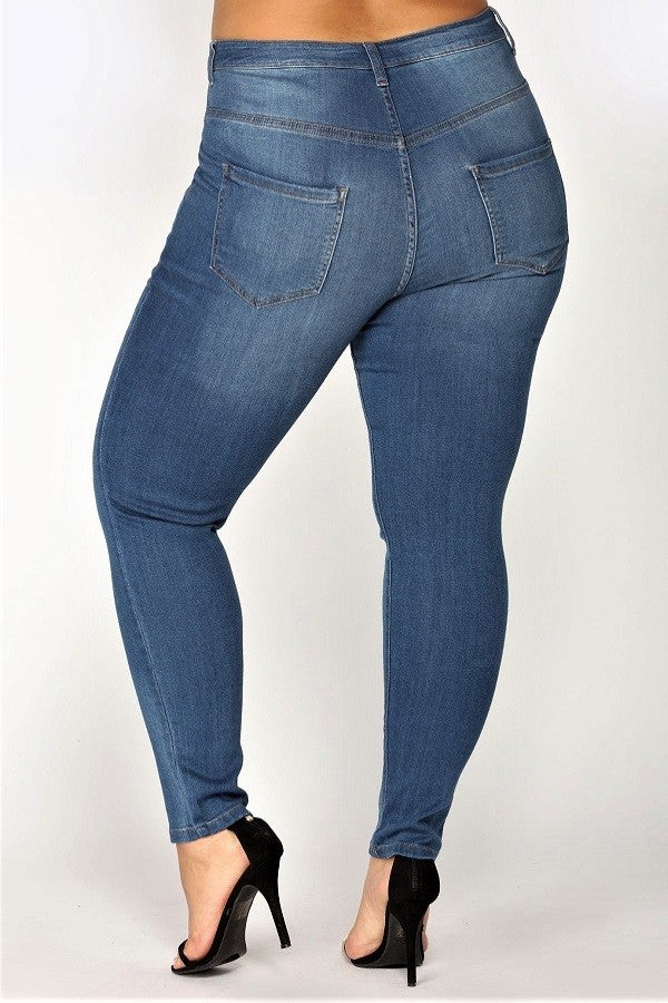 High Rise Super Soft Skinny Denim