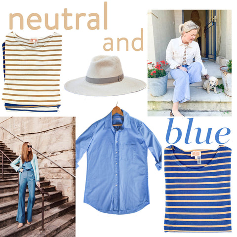 Neutral & Blue