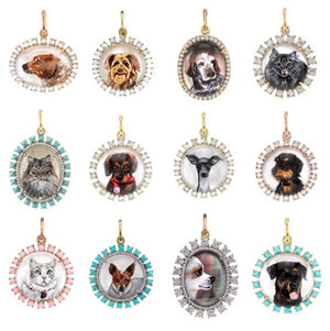 This week is the cutoff for the holidays to order your customized carved pet charm. Please email services@ireneneuwirth.com or call our store 323-285-2000 if you want one in time!