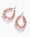 Extra Large Cherry Blossom Pear Hoops - Irene Neuwirth