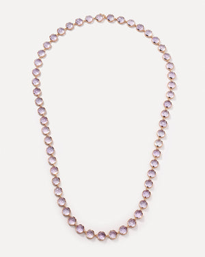 Rose of France Classic Link Long Necklace 18K Rose Gold, Medium - Irene Neuwirth