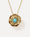 Pavé Extra Large Super Bloom Flower Pendant Necklace - Irene Neuwirth