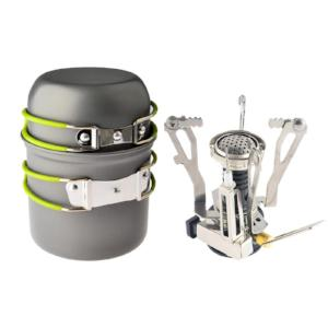 Portable Outdoor Camping Stove Set