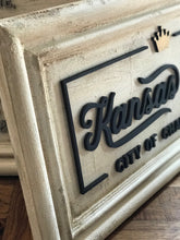 Distressed Kansas City of Champions Home Decor Sign